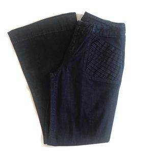 Joe's Jeans Flare with Pleated pockets